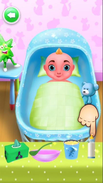 Mommy Newborns Baby Care Games screenshot-4