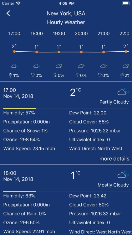 Accurate Weather forecast &map screenshot-3