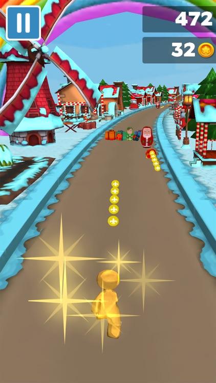 3D Christmas Gingerbread Run