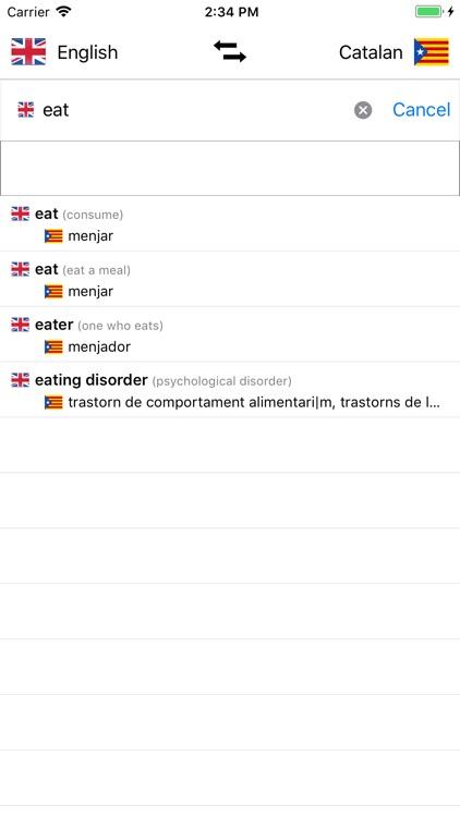 Catalan-English Dictionary