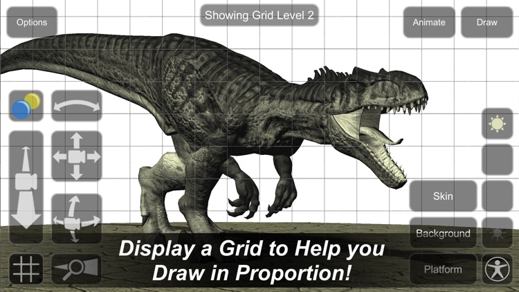 Allosaurus Mannequin screenshot-3