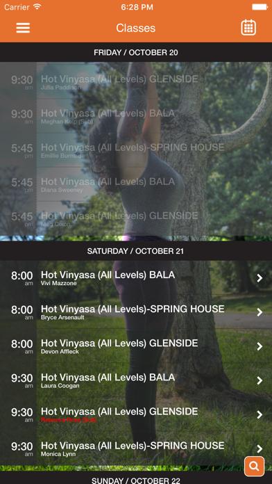 Dana Hot Yoga screenshot four