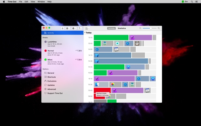 time out break reminders on the mac app store rh itunes apple com