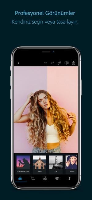 Adobe Photoshop Express-Bedava Screenshot