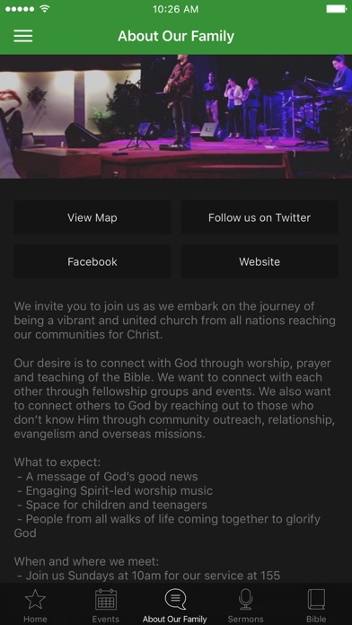 Falconridge Family Church screenshot 3