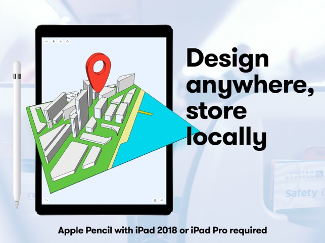 Shapr 3d modeling cad on the app store for Architecture 3d ipad