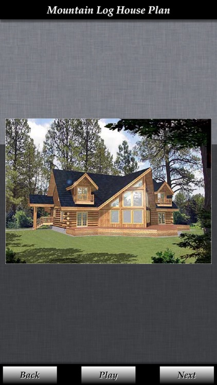 Log House Design - House Plans screenshot-3