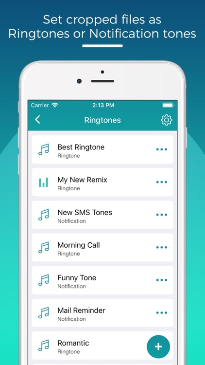 Ringtone Maker : MyRingtone