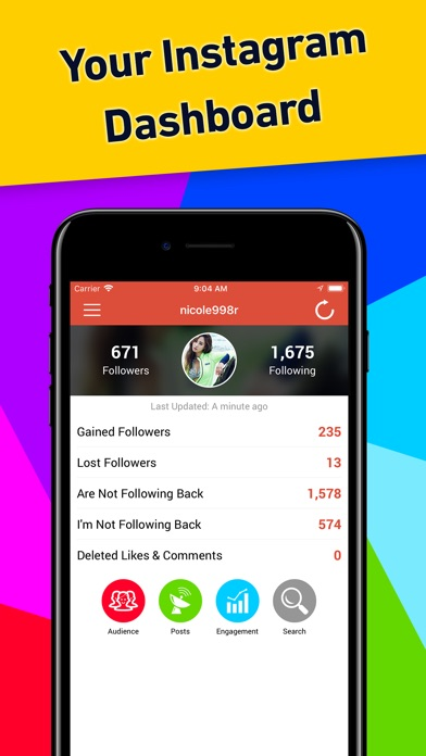 Screenshot for Followers Tracker Pro in United States App Store