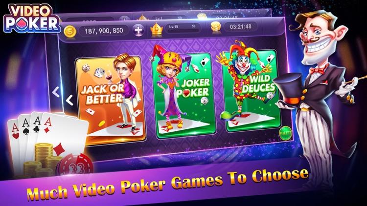 Video Poker-Offline Poker Game