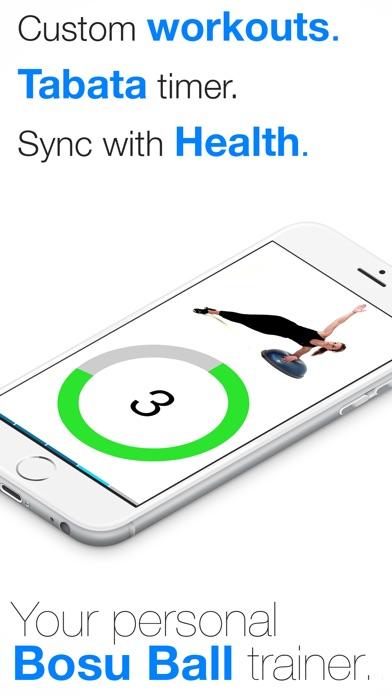 Screenshot for Virtual Trainer Bosu Ball in Czech Republic App Store