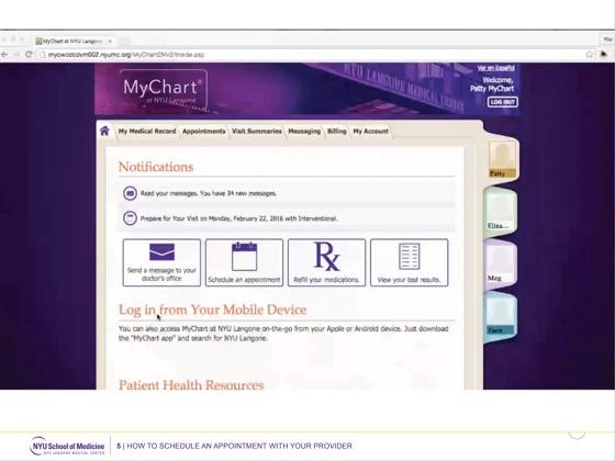 Nyu Langone Health Epic Mychart Tutorial On Apple Books