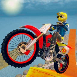 Dirt Bike Stunt Race-r Game 3D
