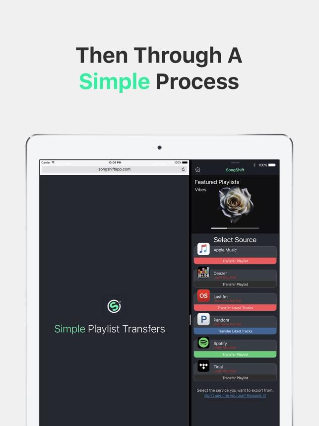 SongShift dans l'App Store