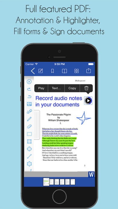 Office Docs - for Word Editor screenshot four