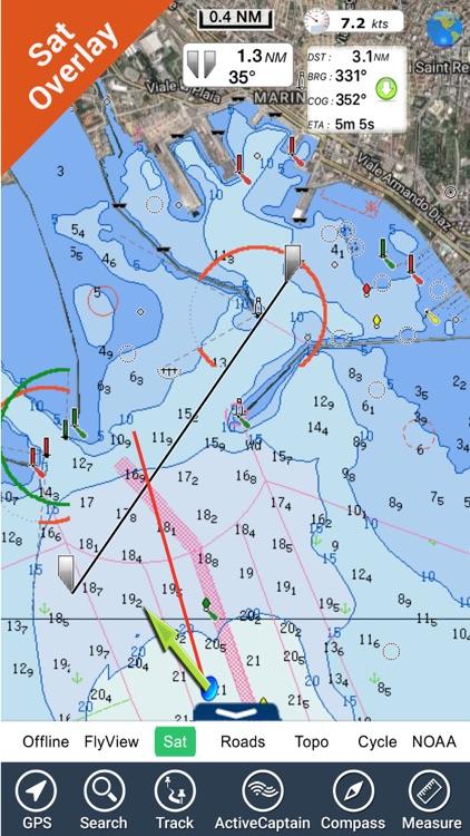 Sardinia HD Nautical Charts