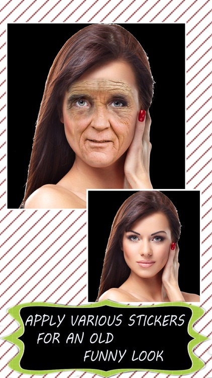 Make Me Old - Face Aging Booth to Look Older