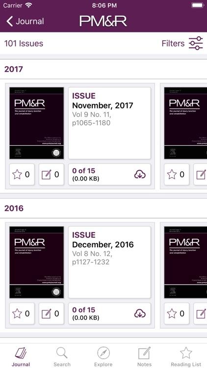 PM&R Journal