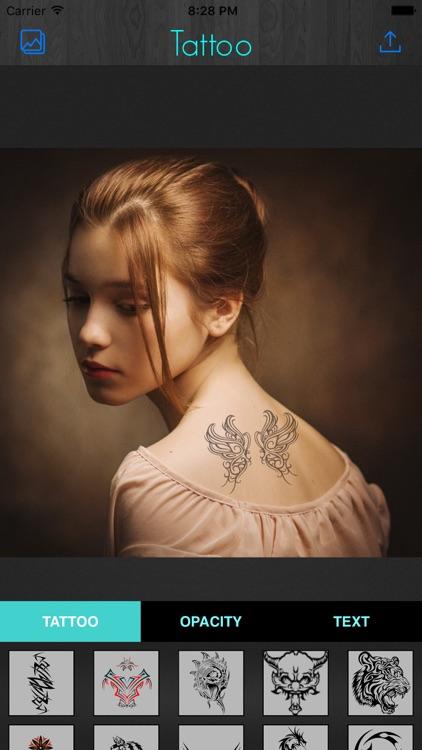 Tattoo Maker-Photo Designer and artist tattoos screenshot-4