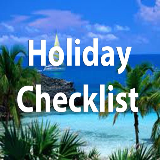 Holiday & Travel Checklist icon