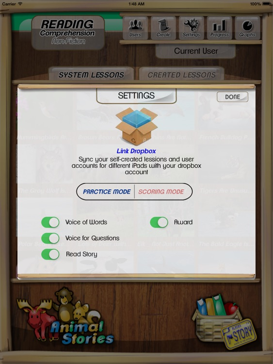 Kids Reading Comprehension screenshot-3