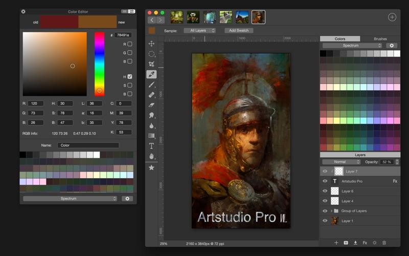 Artstudio Pro: Draw Paint Edit DMG Cracked for Mac Free Download