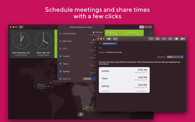 World Clock Pro Screenshot