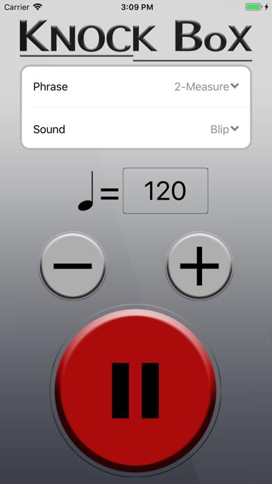 Knock Box Metronome screenshot three