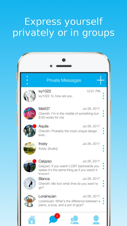 SwiftChat: Radio Chat Rooms screenshot-2