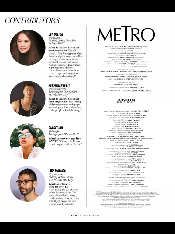 Metro (Magazine) screenshot 9