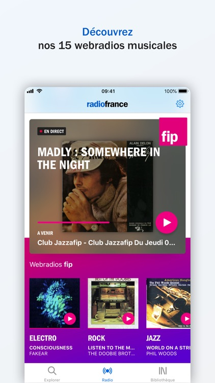 Radio France - direct, podcast screenshot-5