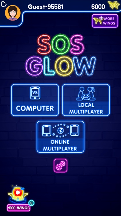 SOS Glow: Online Multiplayer screenshot-0