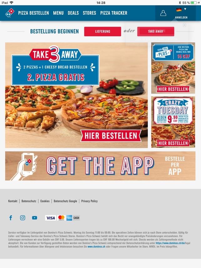 domino s pizza switzerland im app store