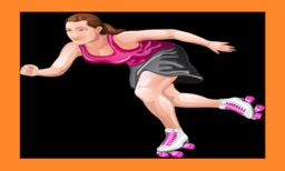 Roller Skating 3D Fun Top Speed Skater Racing Game