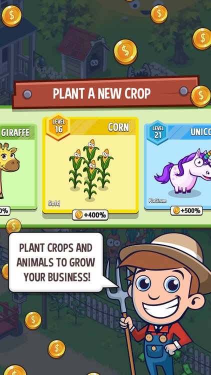 Idle Farming Empire screenshot-3