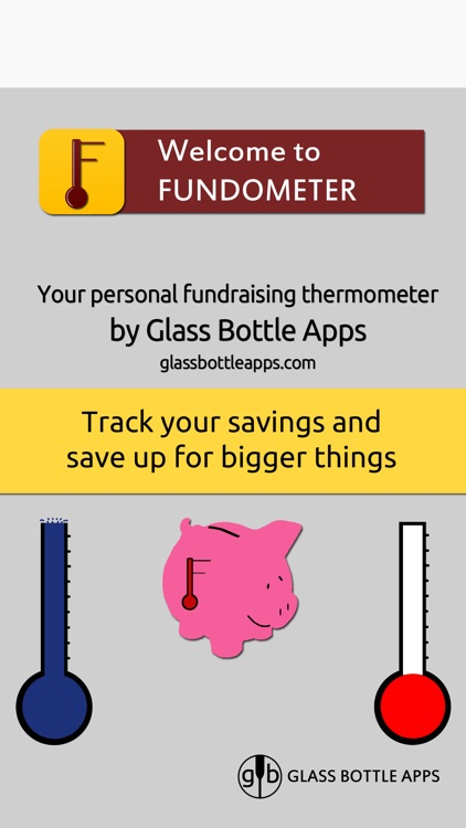 Fundometer - Track Your Saving