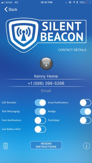 Safety App for Silent Beacon on the App Store