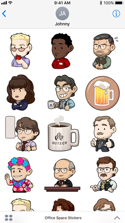 Office Space Stickers screenshot-3