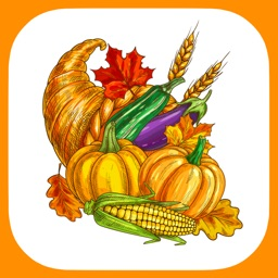 Happy Thanksgiving Stickers!