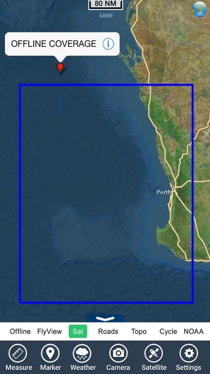 Perth Nautical Charts GPS - HD screenshot-4