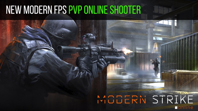 Modern Strike Online: FPS Guns screenshot-0