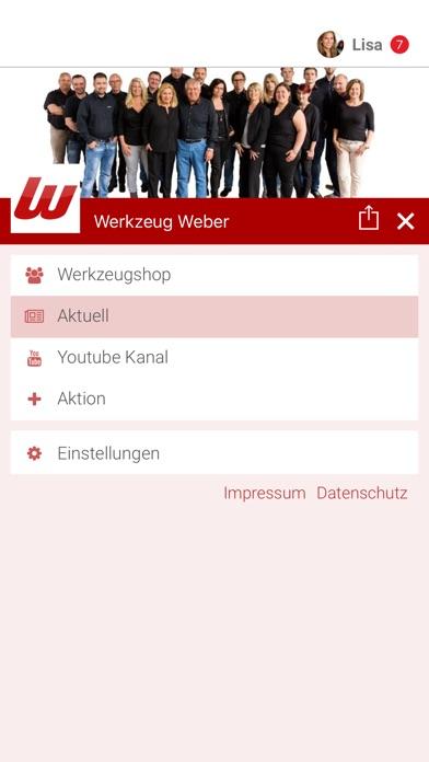 Werkzeug WeberScreenshot von 2
