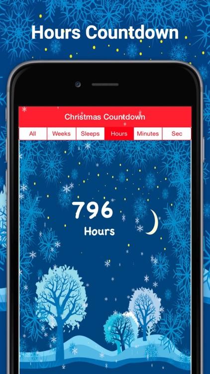 Christmas countdown Sleeps