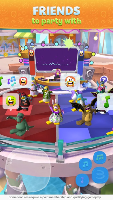 Club Penguin Island iPhone