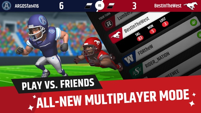 Cfl Football Frenzy On The App Store