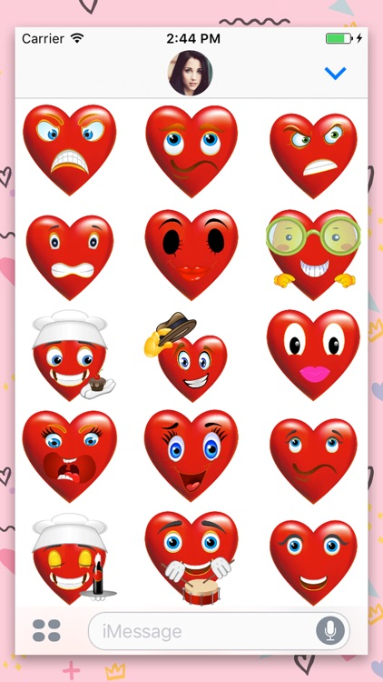 Heart Gif : Animated Sticker