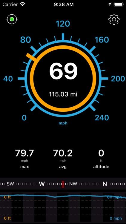 Speedometer Speed Box App screenshot-0