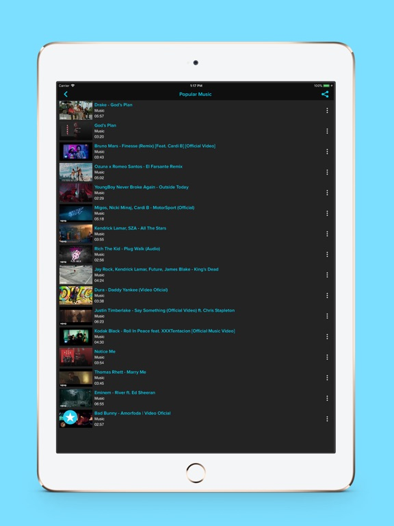 Tubidi - Music Video Player-ipad-2