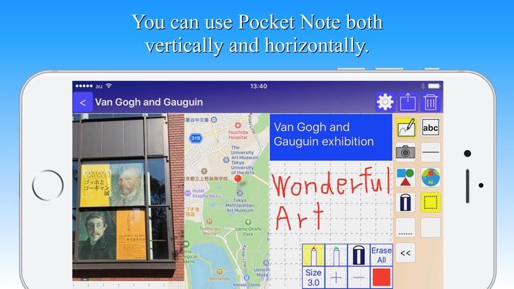 Pocket Note - a new notebook screenshot-4