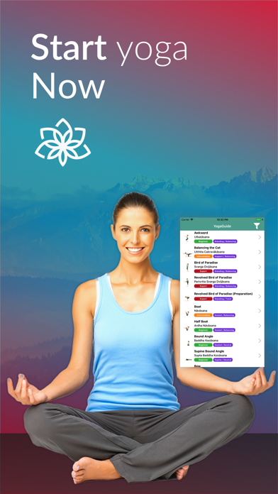 Yoga Asanas and Poses Guide screenshot one